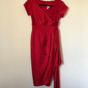 Red Wiggle Dress
